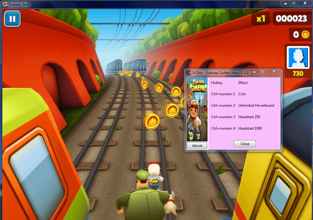 Subway surfers v 1.0 download