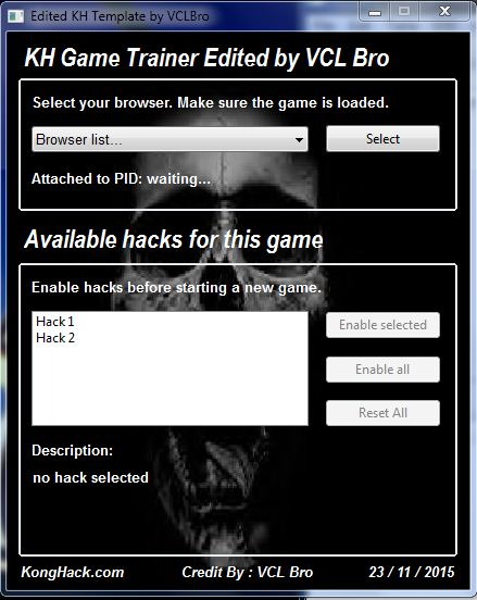 KH Easy Trainer – Edited as Cheat Engine Form by VCL Bro   VCL Bro