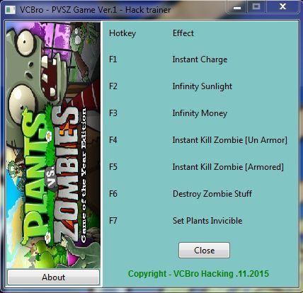 Portable Plant VS Zombie Game Version 1 downloadable +