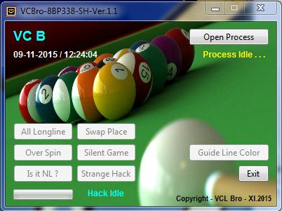 8 ball pool hack spin and win 2017